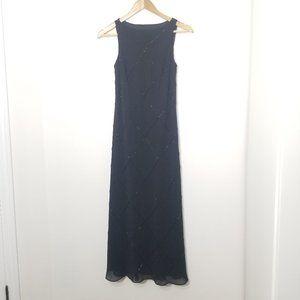 New York & Co | Full Length Gown Black Size 4